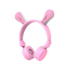 Auriculares infantiles con orejitas de conejo. KIDYWOLF