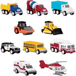 Conjunto de 10 mini vehículos. DRIVEN