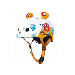 Casco protector para peques. Talla S. Monsters. MICRO