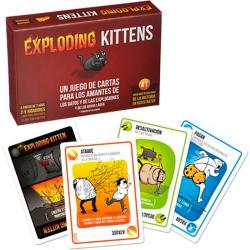 Exploding Kittens. Juego de cartas