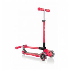 Patinete de 3 ruedas plegable, Primo Foldable. Color rojo. GLOBBER