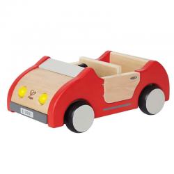 Coche de madera para muñecos. HAPE