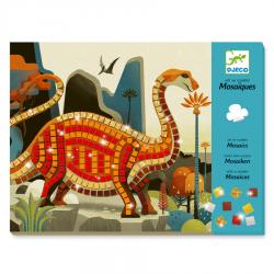 Mosaicos. Dinosaurios.